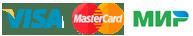 Способы оплаты visa mastercard и мир